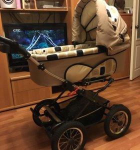 Детская коляска 3 в 1 немецкой фирмы Рэйнджер