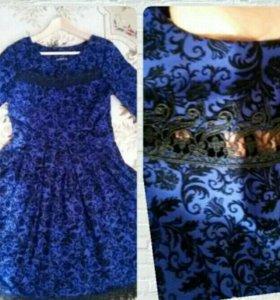 Платье с ажурным рисунком