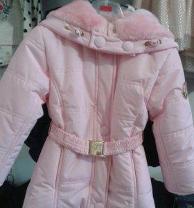 Куртки для девочек от 2500-5500р размеры 2-13 лет