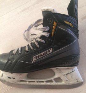 Bauer коньки хоккейные