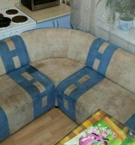 Срочно!!! Модульный кухонный диванчик