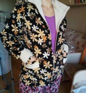 Куртка флисовая, размер 48