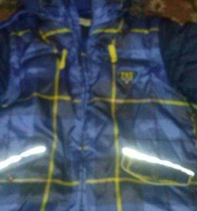 зимний куртка и комбинезон плейтудей
