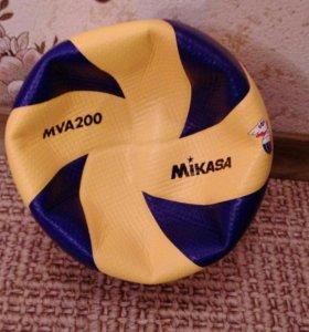 мяч волейбольный новый, профессиональный