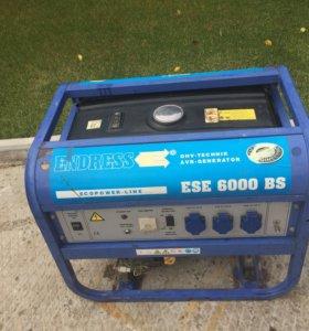 Немецкий генератор Endress ESE 6000 BS (5.5 кВт)