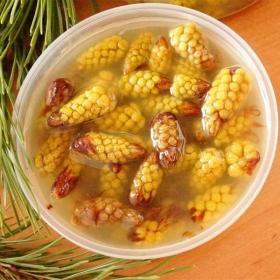 Варенье из сосновых почек с пыльцой 375 гр.
