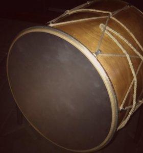 Дхол, барабан , доол, кавказский барабан