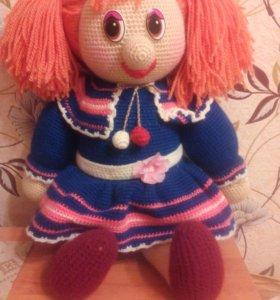 Кукла вязаная. Ручная работа