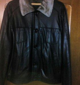 Куртка кожа заменитель
