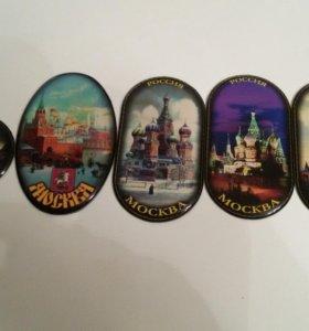 Сувенирные магниты Москва