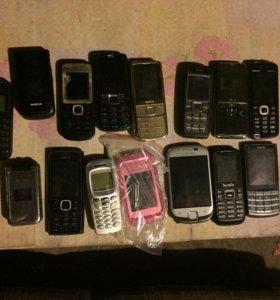 Телефоны!