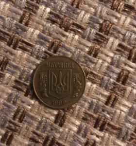 Монета 25 копеек (Украина)