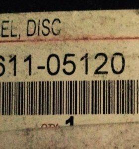 Новый штампованный диск TOYOTA R15
