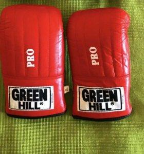 Снарядные перчатки Green Hill
