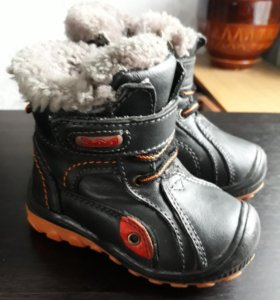 Зимние ботинки натуральные р.21