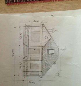 Строим частные дома, бетонные работы , крыши.