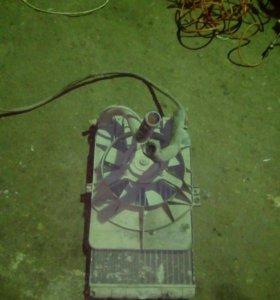 Радиатор 2110,11,12,с вентилятором +300р