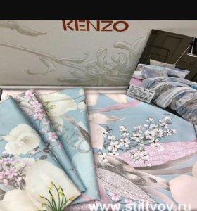 Постельное белье Кензо, Евро размер