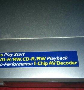Видеопроигрыватель с DVD дисками