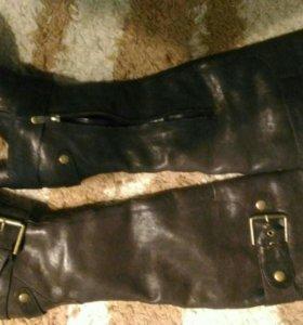 В Дар сапоги Mascotte натуральный мех 39 размер