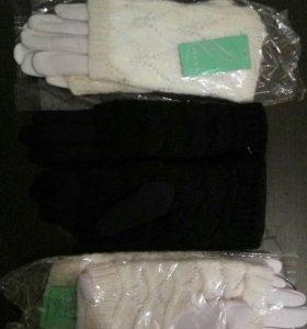 Двойные перчатки новые в наличии