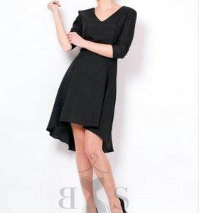 Платье с ассиметричным низом, новое
