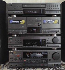 Sony LBT-D609 усилитель с эквалайзером