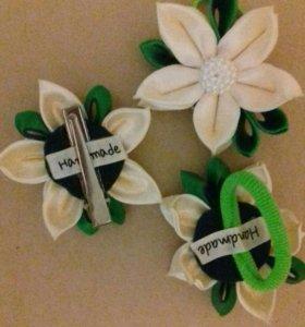 Лилия заколки и резинки