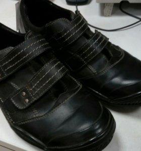 Туфли кожанные школьные