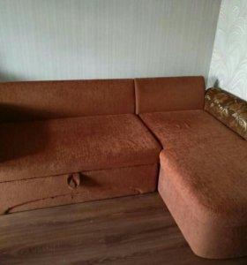 Диван - кровать угловой