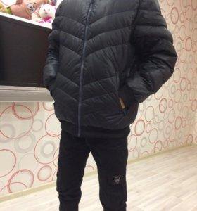 Куртка, adidas neo.Зимняя