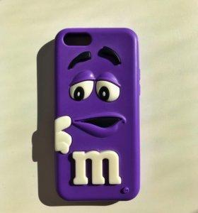 Чехол m&m на айфон 5c