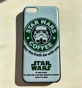 "Чехол ""Star wars coffee"" на айфон 5c"