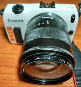 Фотоаппарат Canon EOS M 18-55