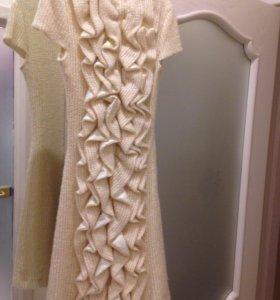 Платье (вязаный трикотаж)