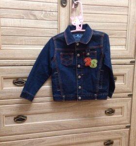 Джинсовая куртка на 5 лет