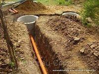 Монтаж водопровода, канализации, выгребных ям