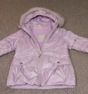 Курточки на девочек 6-7 лет.