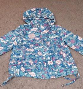 Куртка на девочек 6-7 лет