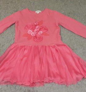Платье на девочек 6-7 лет