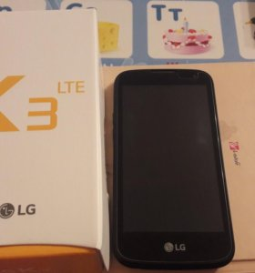 LG K3 LTE + чехол +стекло на экране