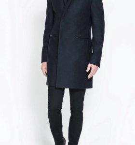 Пальто мужское Zara. Шерсть