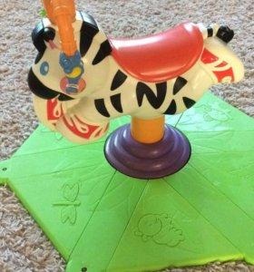 Развл комплекс Веселая зебра Fisher Price