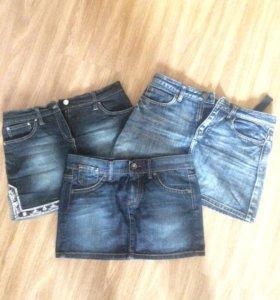 Джинсовые юбочки:)(3 за 700 рублей)