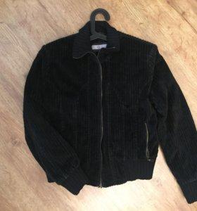 Куртка-бомбер вельветовая