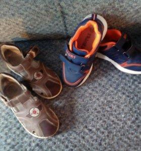 Сандалии, кроссовки
