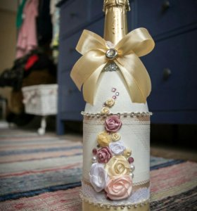 Оформление, декор бутылок