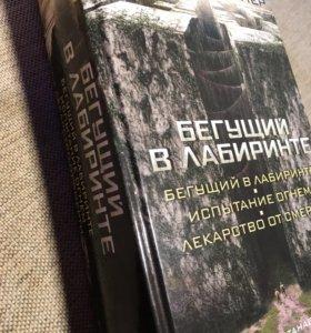 """Книга Джеймса Дэшнера """"Бегущий в лабиринте"""""""