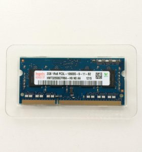 Hynix ddr 3, 2 gb для ноутбука