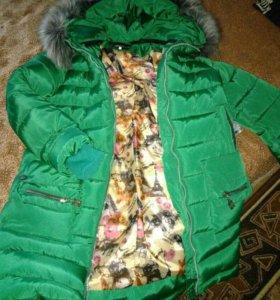 Зимняя женская куртка 48р
